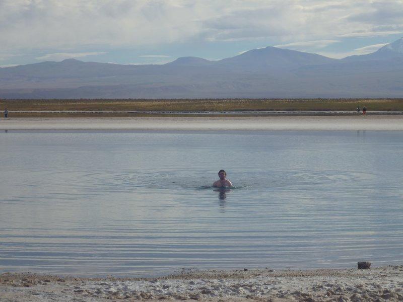 Swimming in the Salt Lake