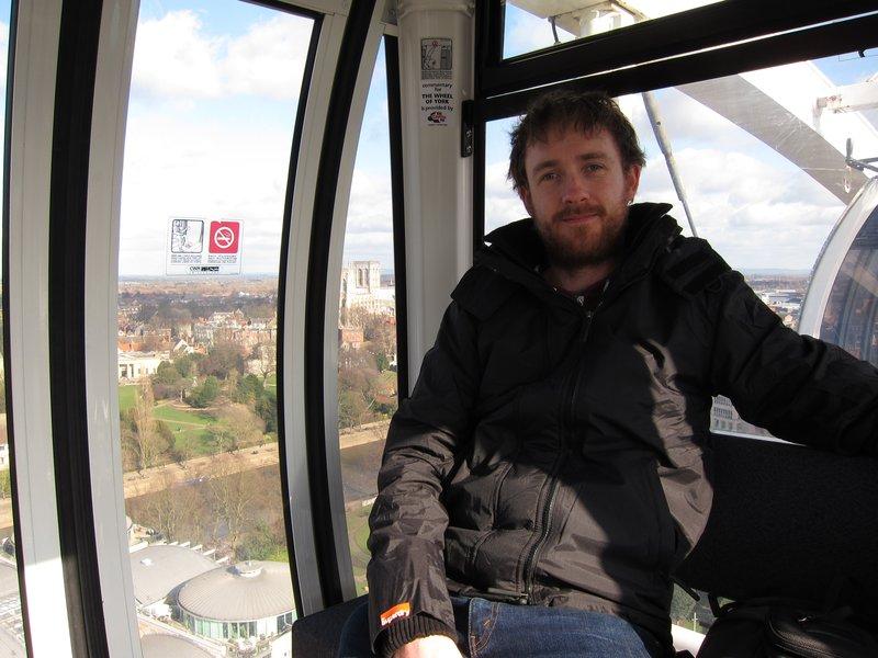 Tim on the Eye of York