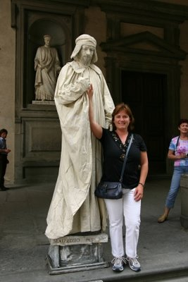 Firenze Standbeeld