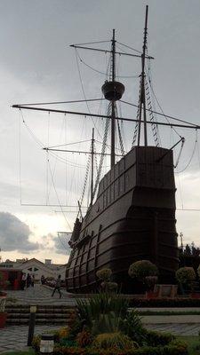 The mighty replica ship
