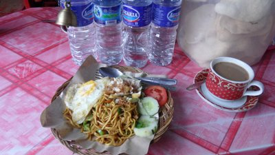 Borobudur breakfast