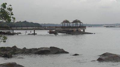 View from Pulau Ubin