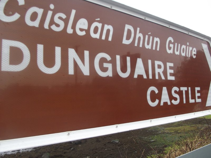 Dunguaire Castle This Way!