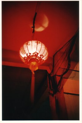 Chinese lantern in Little India