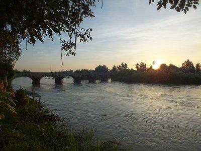 Old French Bridge, Don Det, Laos