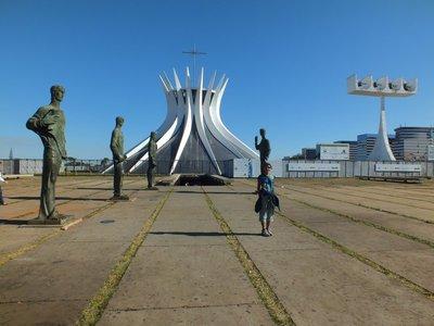 Catedral de Brasilia, Brasilia, Brazil