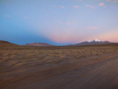 Sunset on the first day of Tupiza - Uyuni Road Trip, Bolivia