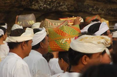 Balinese Hindu Traditional Boxes - Tanah Lot, Bali, Indonesia