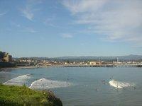 Boardwalk and Surf Break - Santa Cruz