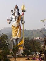 Haridwar_A giant statue of Shiva