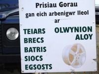 The Welsh language