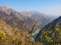 Devprayag_Returning to Rishikesh, the Ganges far below