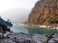 Devprayag_En route_The Ganges, close to Rishikesh