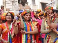 Haridwar_Dancers in the Jain procession