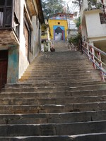Devprayag_The steps up which we did not climb to Raghunath Ji Temple