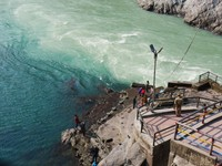 Devprayag_The confluence of the Alaknanda and Bhagirathi Rivers_Birthplace of the Ganges