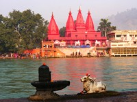 Haridwar_The Ganges & Ganga Temple Bholanath Sevashram