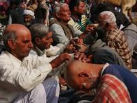 Haridwar_A very close shave!