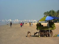 Another view of the beach at Juhu, Mumbai