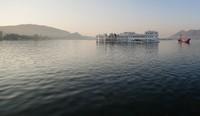 Udaipur_The Lake Palace at sunrise