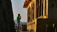 Udaipur_Morning ablutions at Lake Pichola