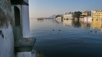 Udaipur_View from the footbridge, Lake Pichola