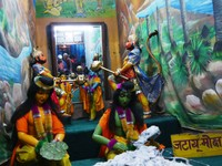 Varanasi_At Tulsi Manas Temple - One of the animated scenes