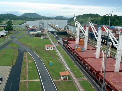 Miraflores Lock of the Panama Canal