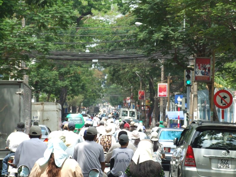 Ho Chi Minh City Motorcycle Madness