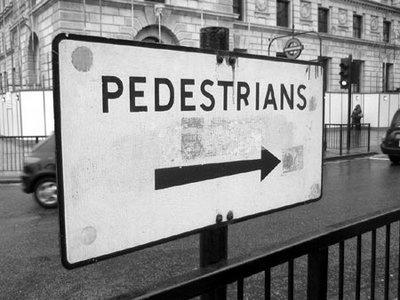 """Pedestrians"", London"