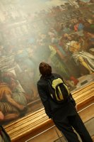 Bigass painting in the louvre