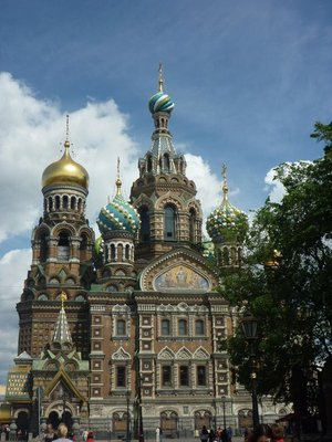 The Church of the Saviour of Spilled Blood, St Petersburg
