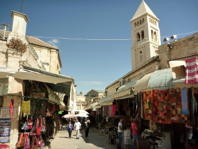 The old town is like one large Grand Bazaar with shops and stalls lining many of the streets