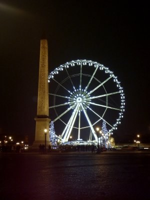 Place de la Concorde: home to an obelisk that used to stand at the front of Luxor Temple in Luxor, Egypt