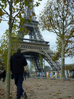 The symbol of Paris - Tour Eiffel