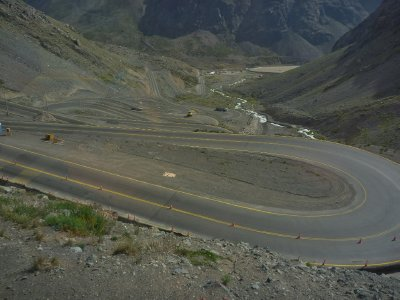 Now these are what you call hairpin bends!