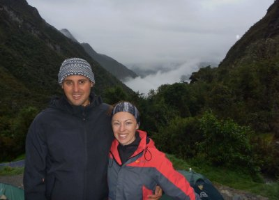 Christmas morning on the Inca trail