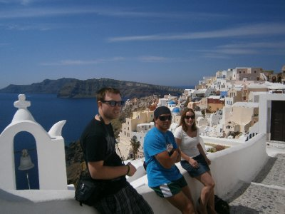 Chilling in Oia