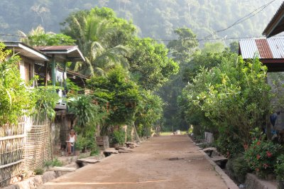 Muang Ngoi Neua street life