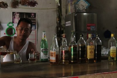Local barman. It's all about the whiskey, but these are no smooth single malts.