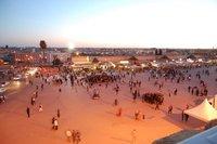 Sunset over Meknes