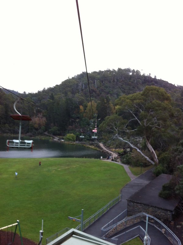 Chairlift view