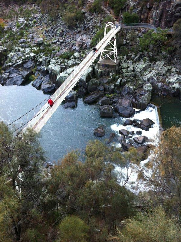 Cataract Gorge Suspension Bridge