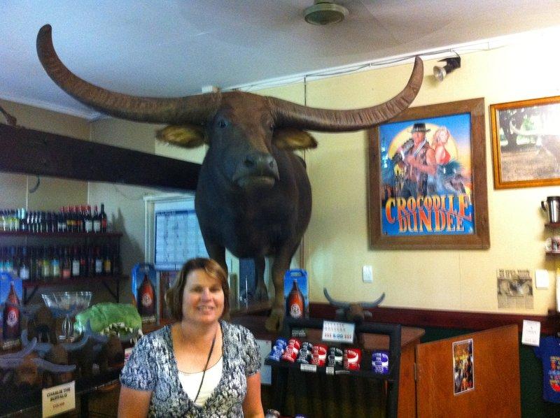 World's most famous buffalo?