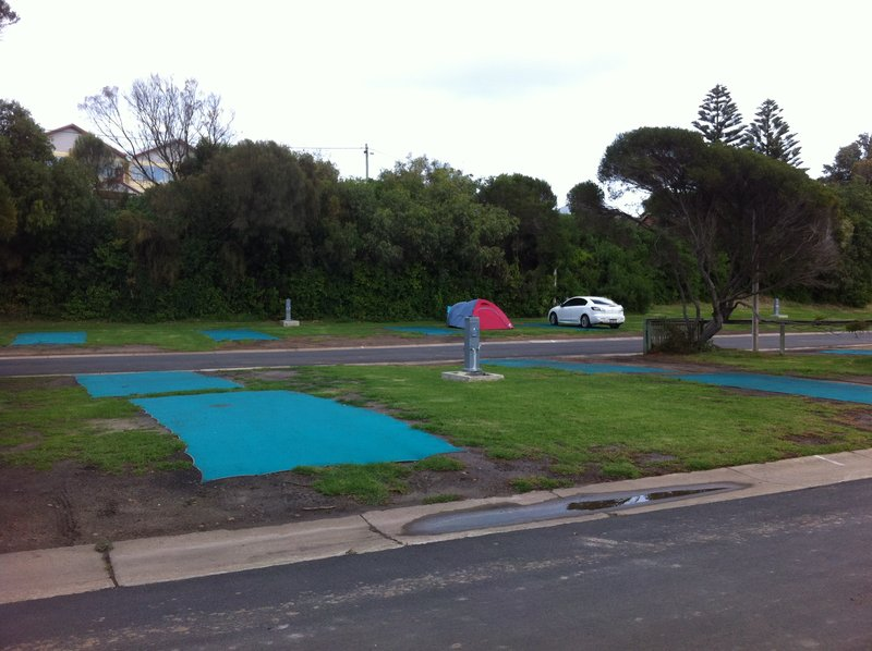 Our private caravan park at Port Campbell