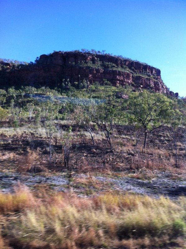 Escarpment near Victoria River