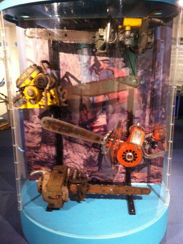 Logging chainsaws