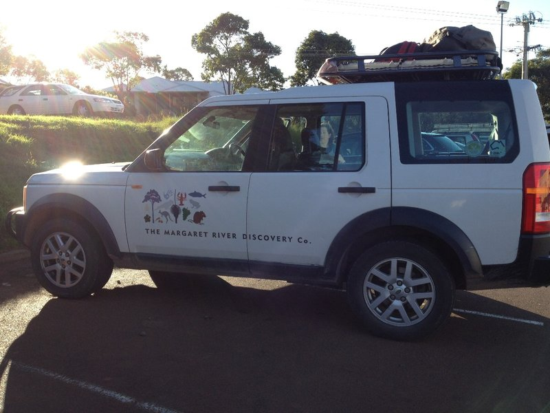The Margaret River Discovery Co Rang Rover