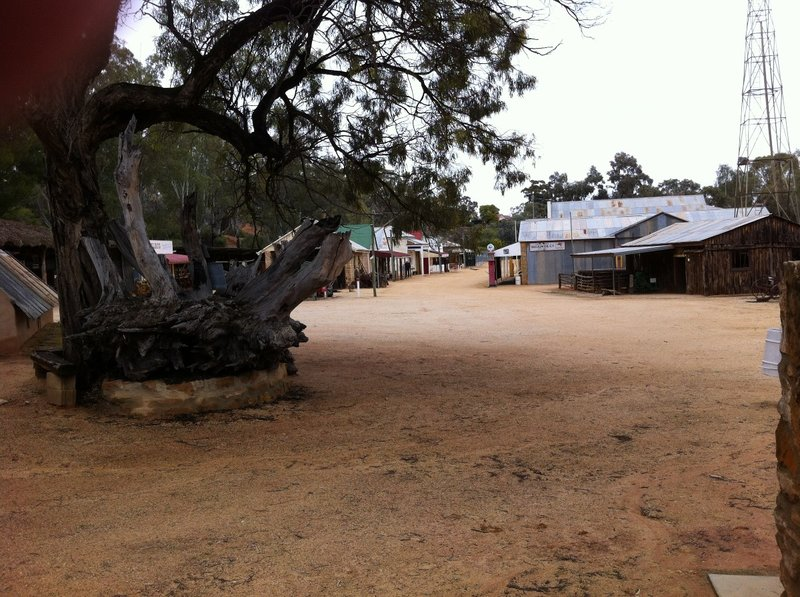 The entrance to The Village in Loxton SA