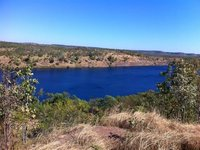 Pine Creek Mine Lake